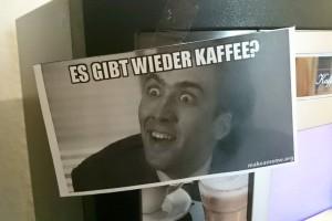 gibt wieder kaffee